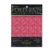 Yasutomo Fold'ems Origami Paper 10 chiyogami folk patterns 4 5/8 in. pack of 40 [Pack of 6]