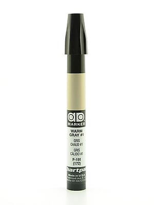 Chartpak AD Marker, Warm Gray 1, Tri-Nib [Pack of 6]