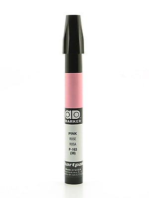 Chartpak AD Marker, Pink, Tri-Nib [Pack of 6]