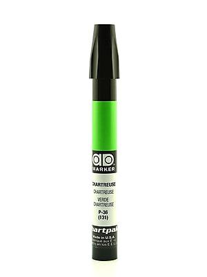 Chartpak AD Marker, Chartreuse, Tri-Nib [Pack of 6]