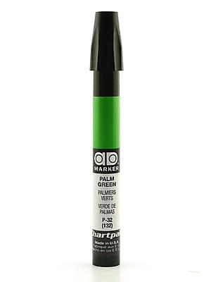 Chartpak AD Marker, Palm Green, Tri-Nib [Pack of 6]