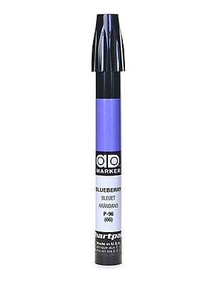 Chartpak AD Marker, Blueberry, Tri-Nib [Pack of 6]