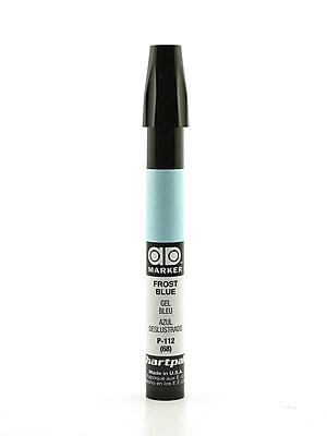 Chartpak AD Marker, Frost Blue, Tri-Nib [Pack of 6]