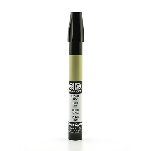 Chartpak AD Marker, Light Ivy, Tri-Nib [Pack of 6]