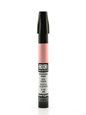 Chartpak AD Marker, Powder Pink, Tri-Nib [Pack of 6]