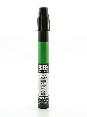 Chartpak AD Marker, Leaf Green, Tri-Nib [Pack of 6]
