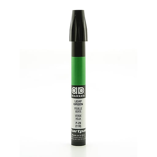 Chartpak AD Marker, Leaf Green, Tri-Nib [Pack of 6]