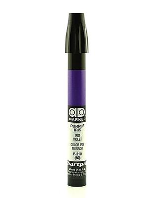 Chartpak AD Marker, Purple Iris, Tri-Nib [Pack of 6]