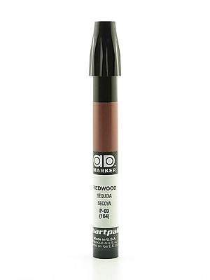 Chartpak AD Marker, Redwood, Tri-Nib [Pack of 6]