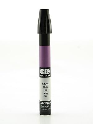 Chartpak AD Marker, Lilac, Tri-Nib [Pack of 6]