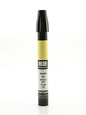 Chartpak AD Marker, Maize, Tri-Nib [Pack of 6]