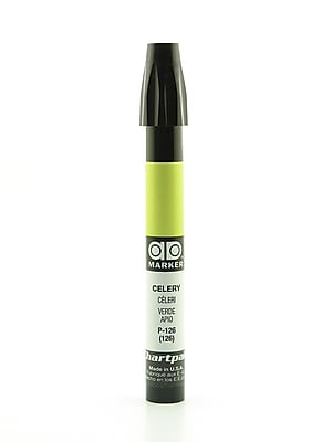 Chartpak AD Marker, Celery, Tri-Nib [Pack of 6]