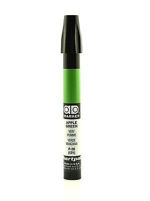 Chartpak AD Marker, Apple Green, Tri-Nib [Pack of 6]