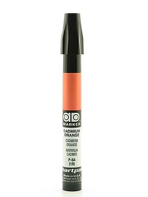 Chartpak AD Marker, Cadmium Orange, Tri-Nib [Pack of 6]