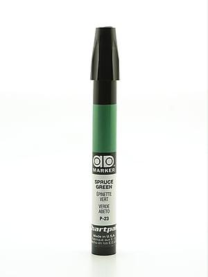 Chartpak AD Marker, Spruce Green, Tri-Nib [Pack of 6]