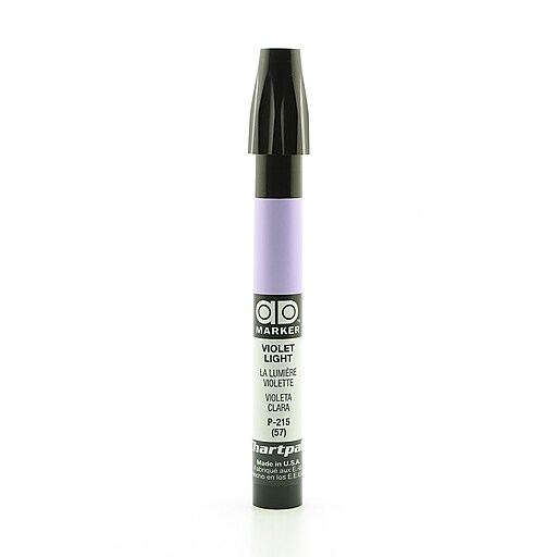 Chartpak AD Marker, Violet Light, Tri-Nib [Pack of 6]