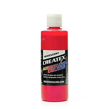 Createx Airbrush Colors iridescent red 4 oz. [Pack of 2]