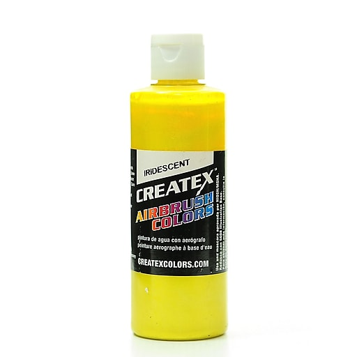 Createx Airbrush Colors iridescent yellow 4 oz. [Pack of 2]