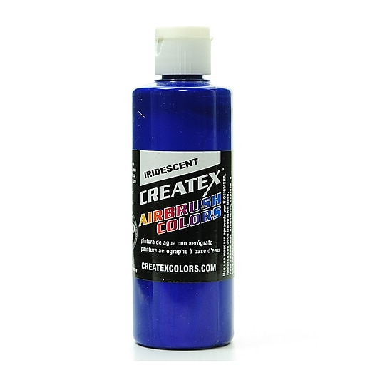 Createx Airbrush Colors iridescent electric blue 4 oz. [Pack of 2]