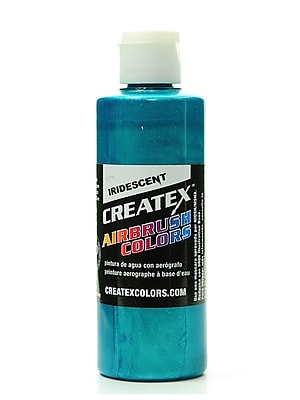 Createx Airbrush Colors iridescent turquoise 4 oz. [Pack of 2]