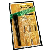 Speedball General Purpose Pen Set two penholders and six pens [Pack of 2]