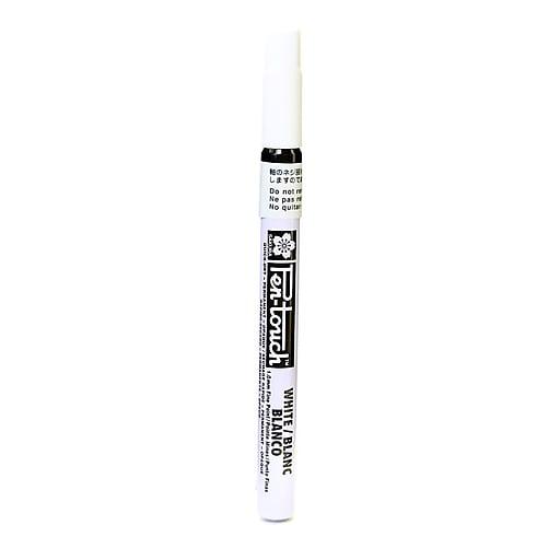Sakura Pen-Touch Marker 1.0 mm fine white [Pack of 4]