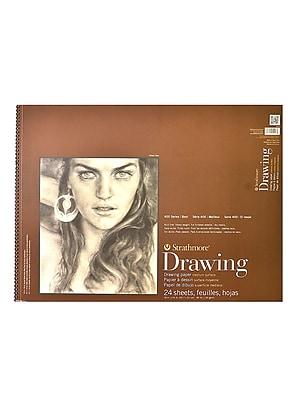 Strathmore 400 Series Drawing Paper Pad 18 In. X 24 In. [Pack Of 2]