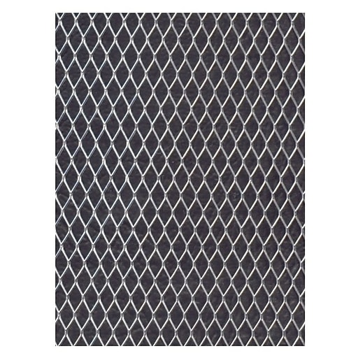 Mesh Cap Tin Shed Mesh: Amaco WireForm Metal Mesh Aluminum Woven Diamond Mesh