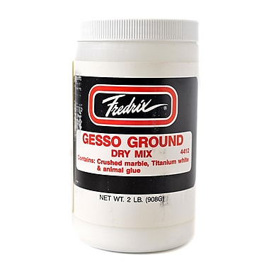 Fredrix Gesso Ground Dry Mix 2 lb. jar