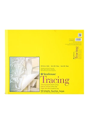 Strathmore 300 Series Tracing Paper Pad 14 in. x 17 in. [Pack of 2]