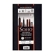 Cachet SoHo Sketch Book 8 1/2 in. x 5 1/2 in. [Pack of 3]