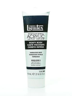 Liquitex Heavy Body Professional Artist Acrylic Colors turquoise deep 2 oz.