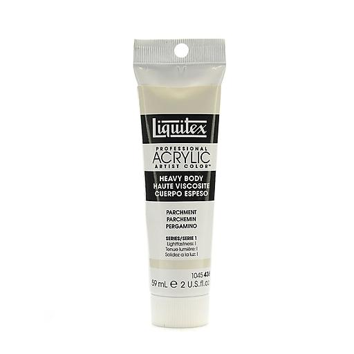 Liquitex Heavy Body Professional Artist Acrylic Colors parchment 2 oz. [Pack of 3]