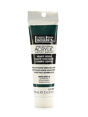 Liquitex Heavy Body Professional Artist Acrylic Colors phthalo green (blue shade) 2 oz. [Pack of 3]