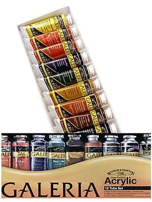 Winsor and Newton Galeria Acrylic Colour Basic Set each 1716958