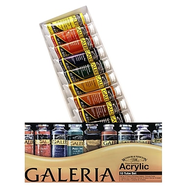 Winsor and Newton Galeria Acrylic Colour Basic Set each