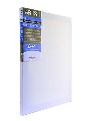 Fredrix Blue Label Ultra-Smooth Portrait Grade Pre-Stretched Artist Canvas 18 in. x 24 in. each