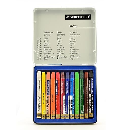 Staedtler Karat Watercolor Crayon Sets Set Of 12