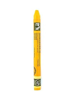 Caran d'Ache Neocolor II Aquarelle Water Soluble Wax Pastels orange [Pack of 10]