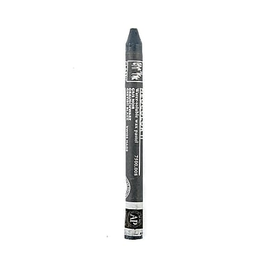 Caran d'Ache Neocolor II Aquarelle Water Soluble Wax Pastels black gray [Pack of 10]
