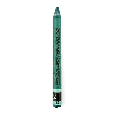 Caran d'Ache Neocolor II Aquarelle Water Soluble Wax Pastels dark green [Pack of 10]