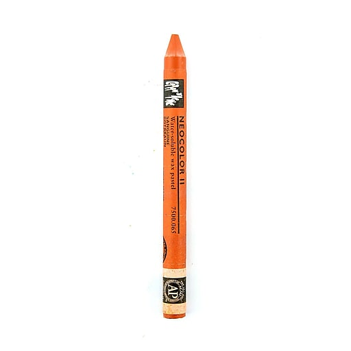 Caran d'Ache Neocolor II Aquarelle Water Soluble Wax Pastels russet [Pack of 10]