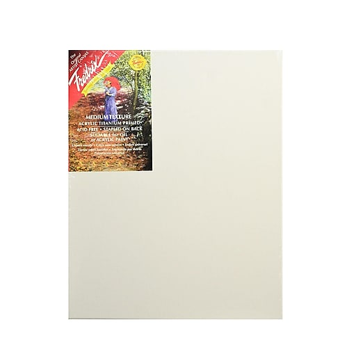 Fredrix Red Label Stretched Cotton Canvas 16 in. x 20 in. each