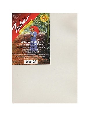 Fredrix Red Label Stretched Cotton Canvas, 9