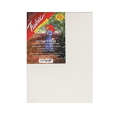 Fredrix Red Label Stretched Cotton Canvas, 11