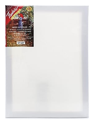 Fredrix Red Label Stretched Cotton Canvas 18 in. x 24 in. each
