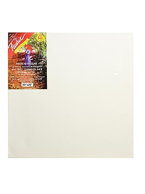 Fredrix Red Label Stretched Cotton Canvas 20 in. x 20 in. each