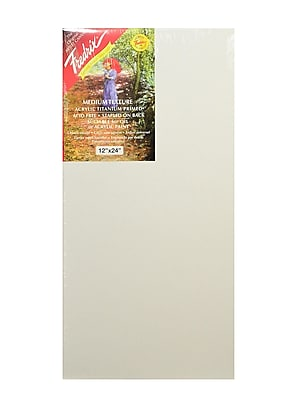 Fredrix Red Label Stretched Cotton Canvas, 12