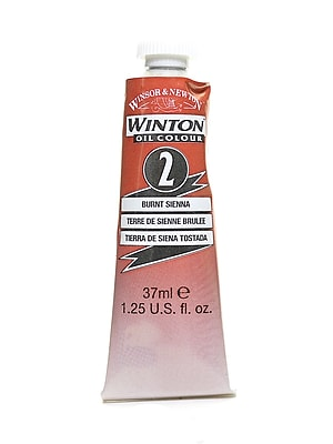Winsor and Newton Winton Oil Colours 37 ml burnt sienna 2 [Pack of 3]