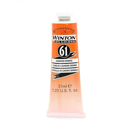 Winsor  and  Newton Winton Oil Colours 37 ml cadmium orange 61